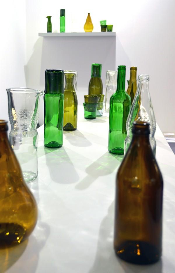 Recyclingdesign Altglas