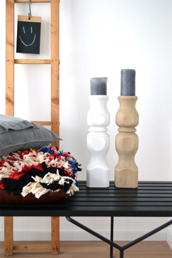 Kerzenständer DIY selber machen Holz (3)