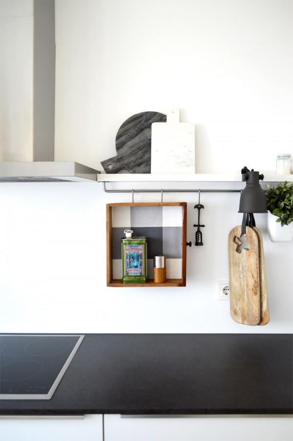 Recyclingdesign alte Schublade Küchebboard (2)