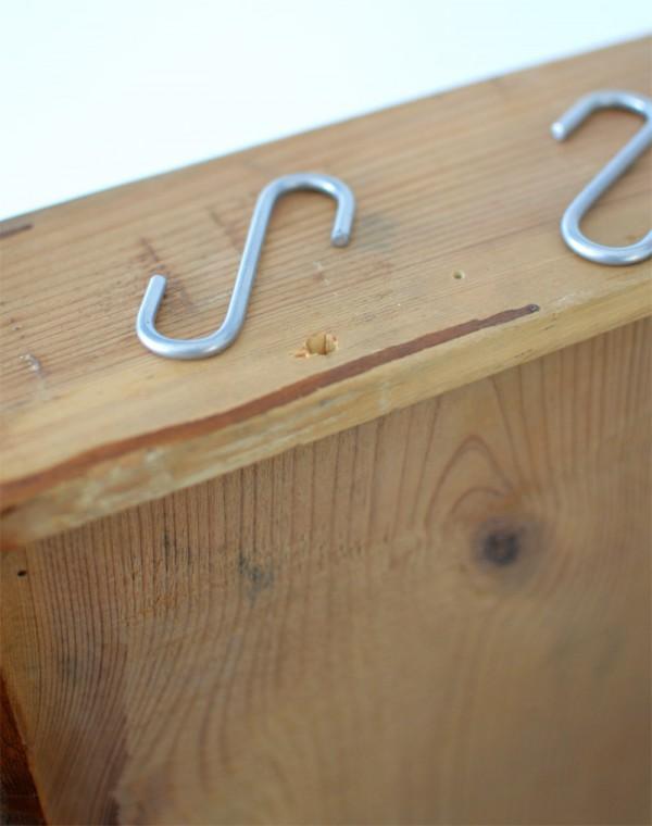 Recyclingdesign alte Schublade Küchebboard (5)