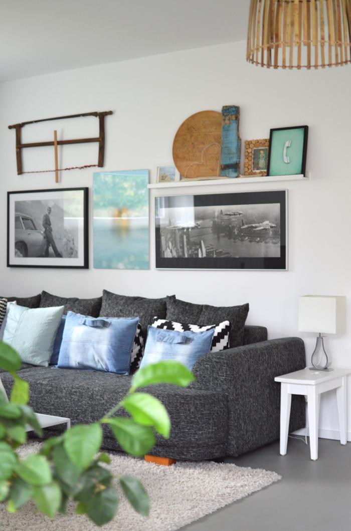 Wie ich wohne und arbeite ikea und houzz waren bei mir zu besuch ich designer - Bilderwand gestalten ...