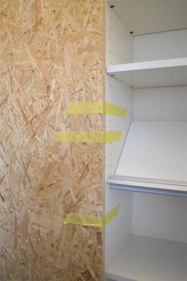schiebetr selber bauen den anschluss zwischen schrank und. Black Bedroom Furniture Sets. Home Design Ideas