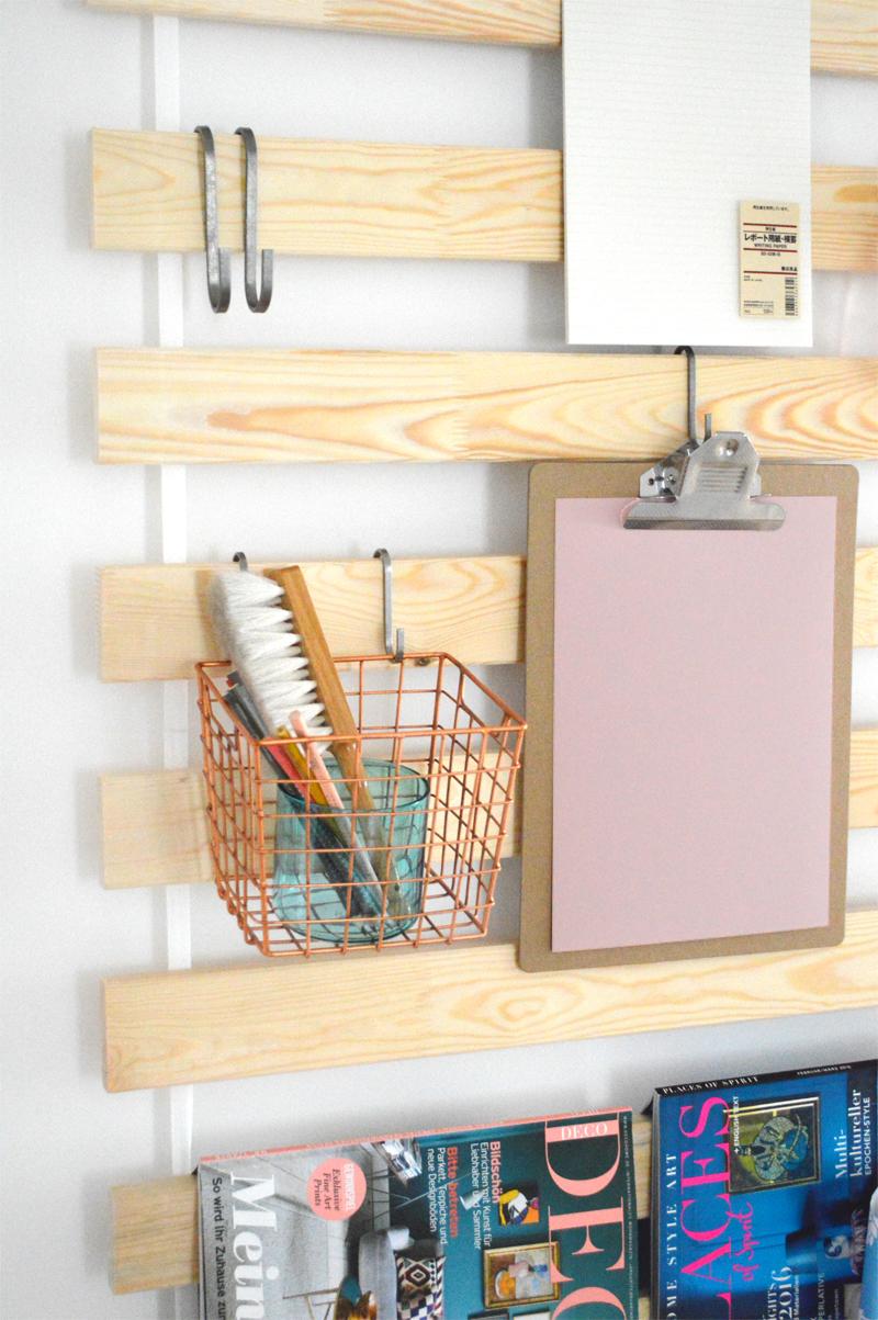 ikea hack diy utensilo mit lattenrost sultan lade. Black Bedroom Furniture Sets. Home Design Ideas
