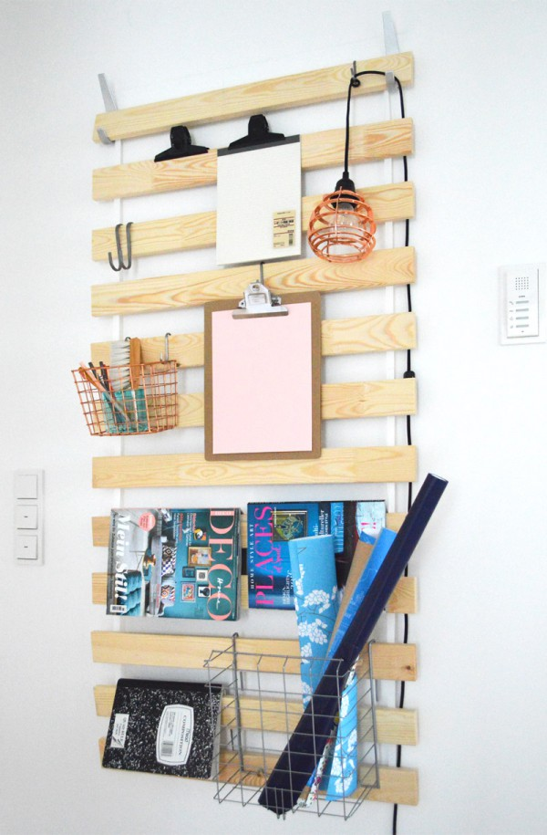 Ikea hack schreibtisch  IKEA Hack - DIY Utensilo mit Lattenrost SULTAN LADE