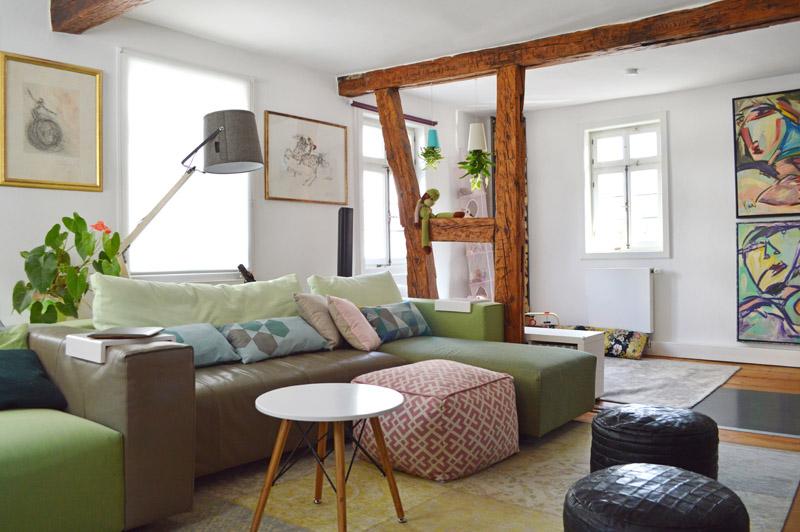 fachwerk in frankfurt wohnen mit kind kunst co. Black Bedroom Furniture Sets. Home Design Ideas