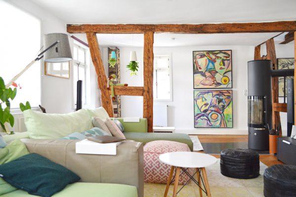 Fachwerk in frankfurt wohnen mit kind kunst co for Interieur exterieur wohnen in der kunst