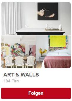Pinterest Inspiration Wohnen mit Kunst