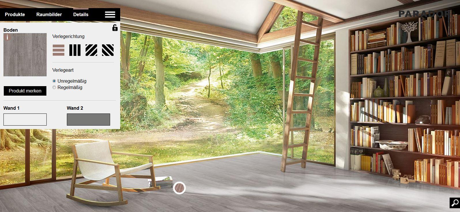 gewinne deinen wunschboden von parador im wert von euro. Black Bedroom Furniture Sets. Home Design Ideas