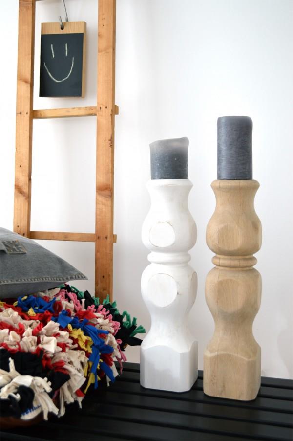 Kerzenständer DIY selber machen Holz (2)