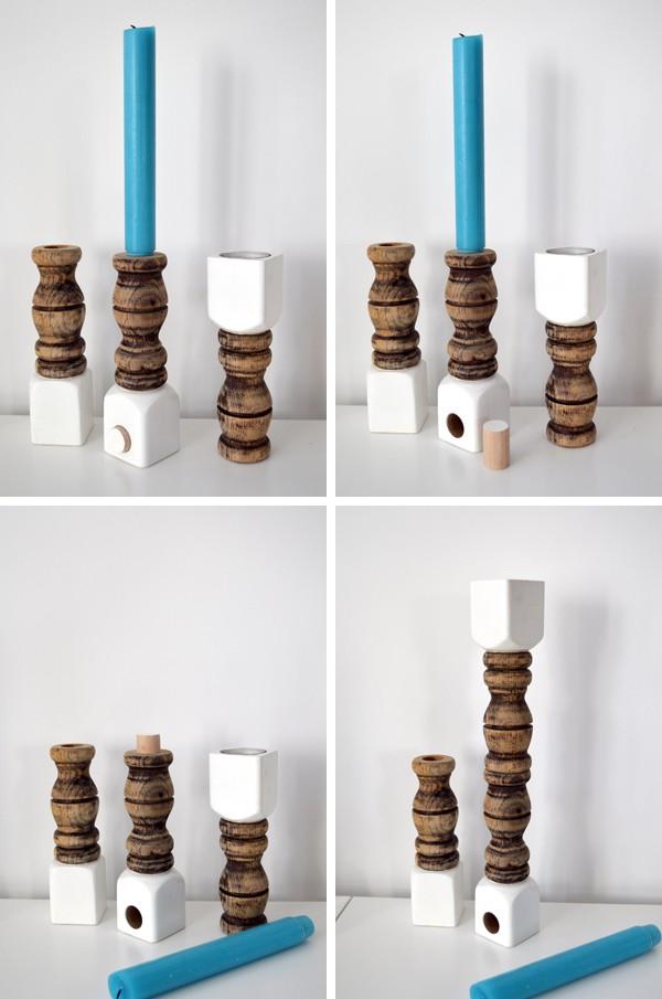 Kerzenständer selber machen (1)