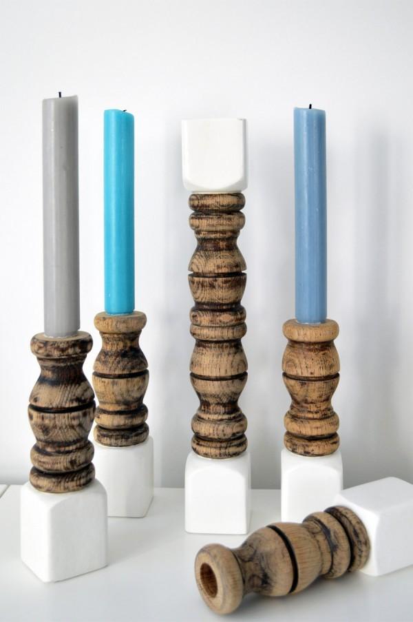Kerzenständer selber machen (2)