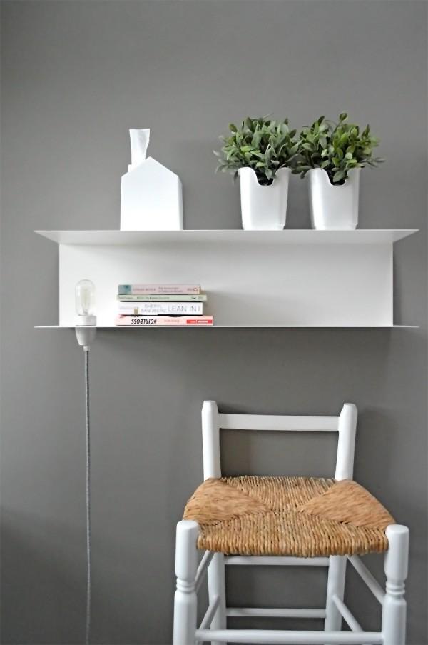 Nachttisch Lampe DIY Textilkabel (1)