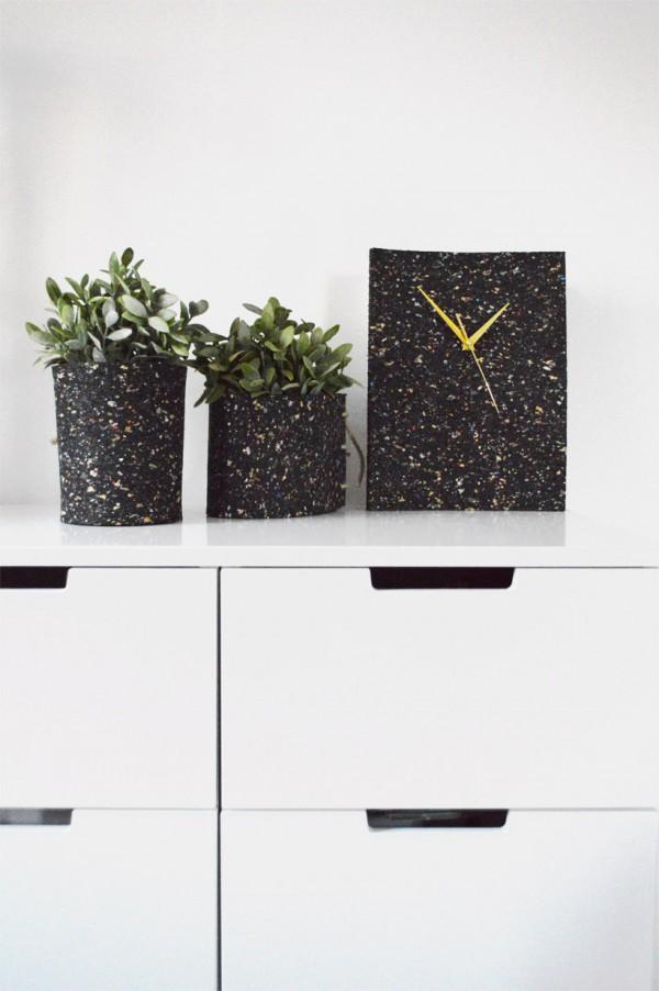 diy aus waschmaschinenmatte drei auf einen streich. Black Bedroom Furniture Sets. Home Design Ideas