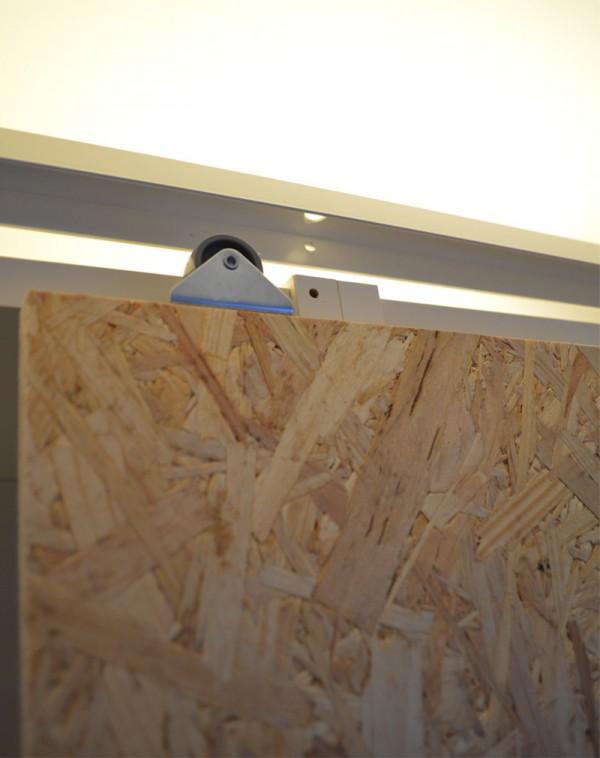 Extrem DIY: Schiebetüren für IKEA Billy Regale selber machen VJ15