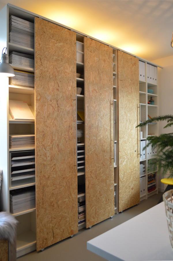 Diy Schiebetüren Für Ikea Billy Regale Selber Machen