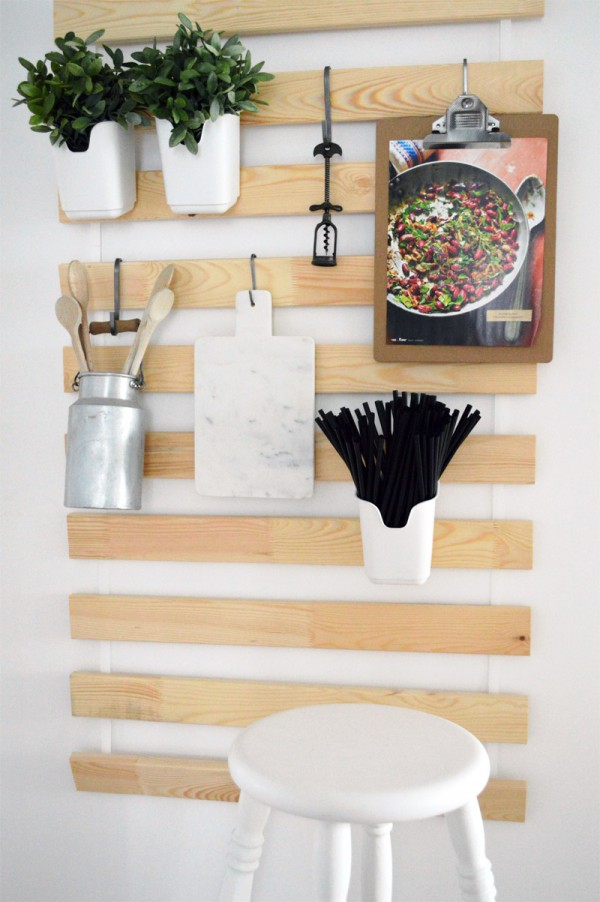 IKEA Hack - DIY Utensilo mit Lattenrost SULTAN LADE