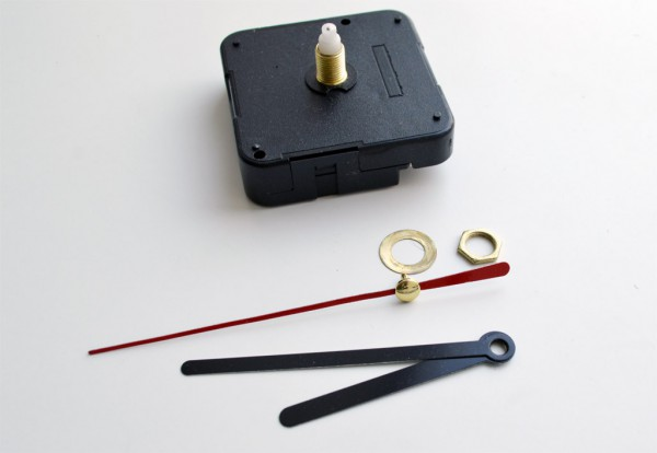 Marmor Uhr selber machen DIY Photo Patch (10)