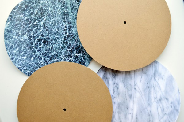 Marmor Uhr selber machen DIY Photo Patch (12)