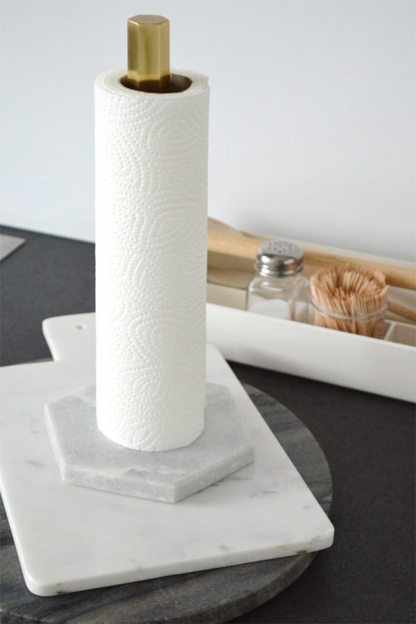 Marmor in der Küche Deko Styling (2)