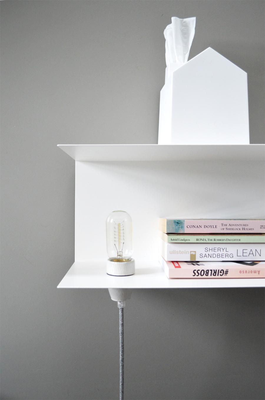 DIY bedside table lamp